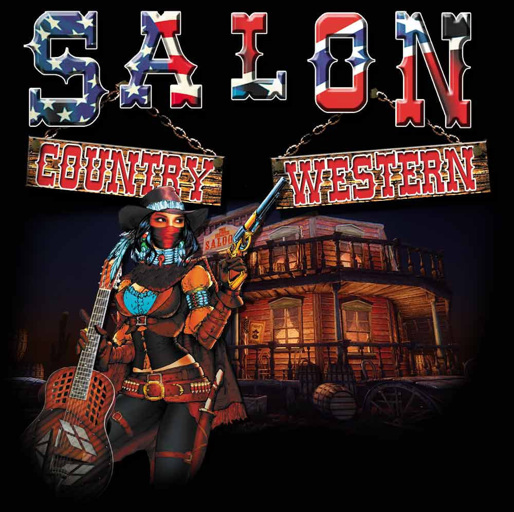 Salon country western for Salon western